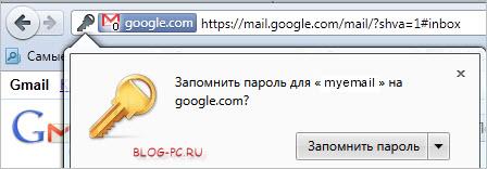 Сохранение паролей в Mozilla Firefox