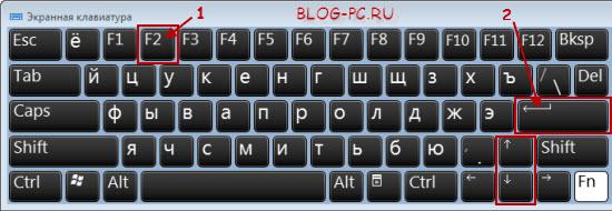 Где клавиша F1 на клавиатуре