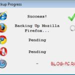 Копирование закладок в Bookmarks Backup
