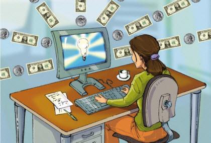 Затраты на рекламу в Интернете