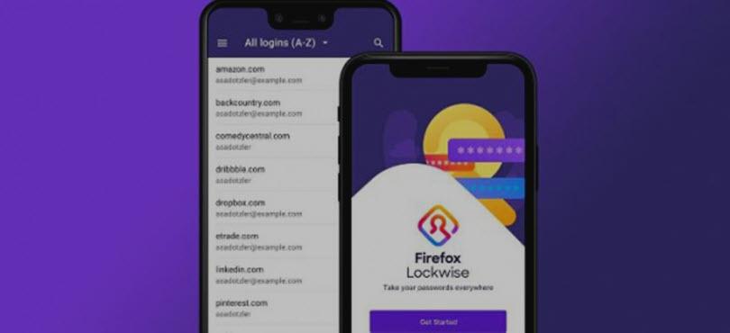 Менеджер паролей Firefox Lockwise